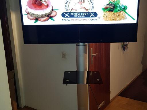 ideale höhe tv